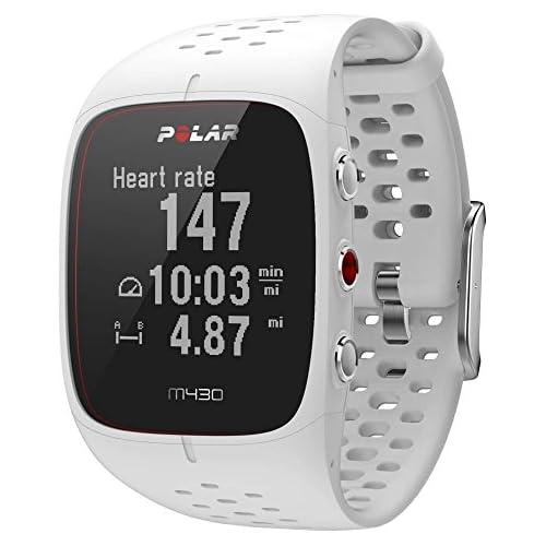 chollos oferta descuentos barato Polar M430 Reloj de Running con GPS y Frecuencia cardíaca en la muñeca Multideporte Actividad 24 7 Blanco M L