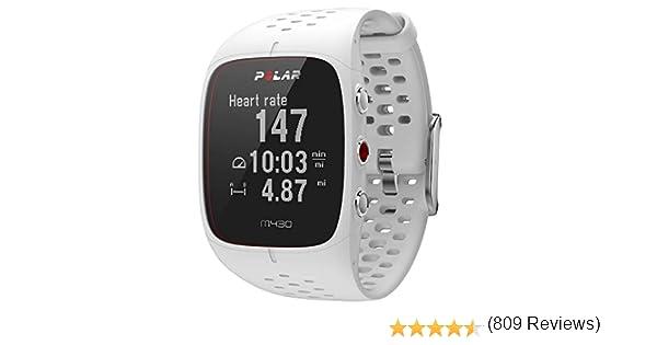 Polar M430 Reloj de Running con GPS y Frecuencia cardíaca en ...