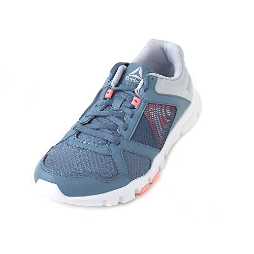 Grey Zapatillas Mujer Trainette Slate Digital Blue Pink de MT Reebok 000 para Deporte Multicolor White Yourflex 10 Cloud qAwIAFO