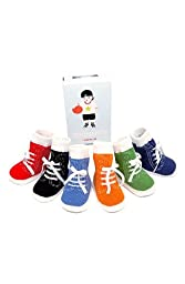 Trumpette Johnny's Socks Baby/Toddler Sizes (0-12 Months), Assorted Colors