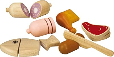 Plantoys Plan Activity Large Scale Meat Set by Plan Toys