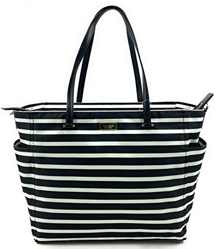 Kate Spade New York Dawn Baby Diaper Bag (Sailing Stripe black Multi)