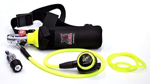 DXDIVER Bailout Pony Bottle Diving Kit with Nylon Belt - (Cf Pony Bottle)