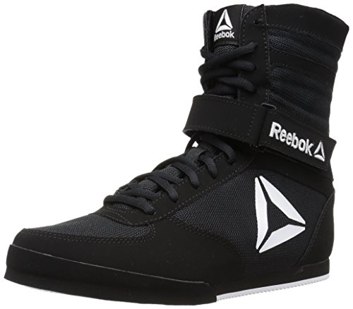 Men's Boxing Black White Reebok Shoe Boot aExwTYEdq