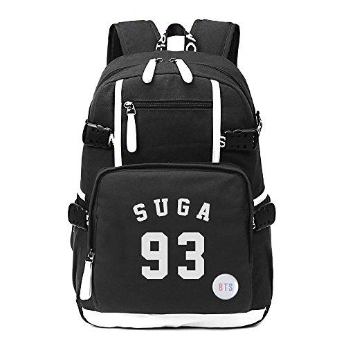 Fanstown Kpop BTS Hiphop Backpack pin botton set