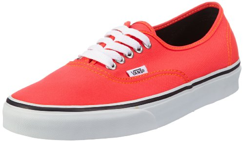 Orange Vans mixte adulte Rot Authentic Rouge mode Red Baskets Neon Rainbow U rwrPqS