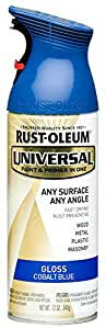Rust-Oleum Universal 245212 12 Ounce 355ML Gloss Cobalt Blue Spray