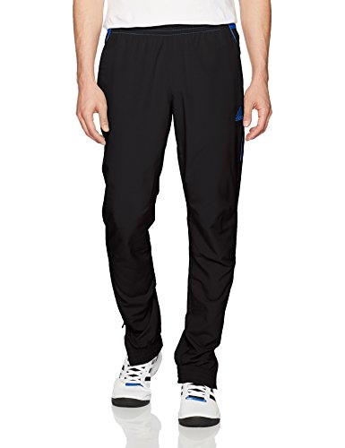 fan products of adidas Men's Basketball Foundation Pants, Black, Medium