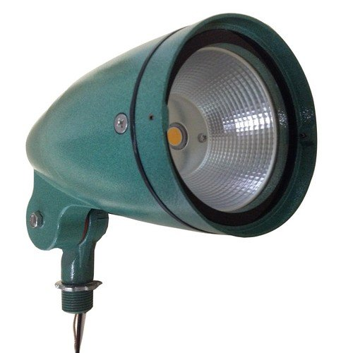 Morris 71369 LED Bullet Floodlight, 30W, 3000 K, 2274 lm, 120-277V, Green