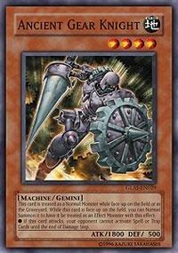 - Yu-Gi-Oh! - Ancient Gear Knight (GLAS-EN029) - Gladiators Assault - 1st Edition - Common