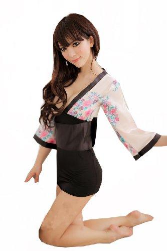 UPC 600925006165, Yamimi Mix color Unique Kimono sexy lingerie