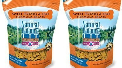 Natural Balance L.I.T. Sweet Potato and Fish Formula Dog treats, Small Breed, 16-Ounce (2 Packs 8 ounce each)