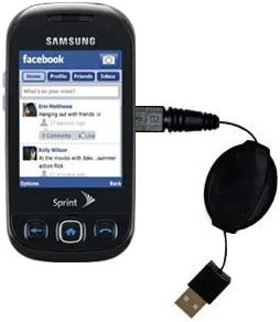 USB Power Port Ready retractable USB charge USB cable wired specifically for the Samsung SPH-M350 and uses TipExchange