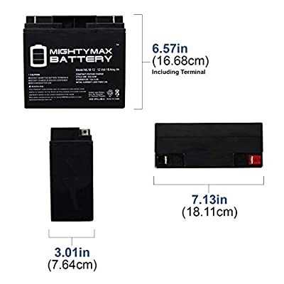 Mighty Max Battery 12V 18AH Battery for Golden GP160 LiteRider - 2 Pack Brand Product: Electronics