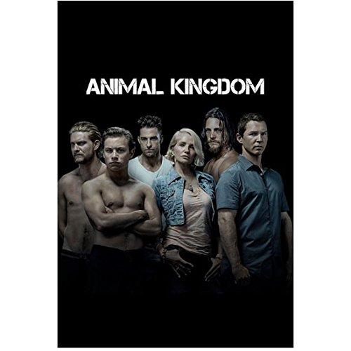 Ellen Barkin 8 Inch x10 Inch Photograph Animal Kingdom (TV Series 2016 - ) w/Cast Black Background Title Poster kn