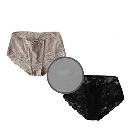 Ropa Interior Cómoda De La Cintura Del Cordón Atractivo Paquete Hip Sección Delgada De Sedoso De Seda De Morera - Ultra De Las Mujeres A6