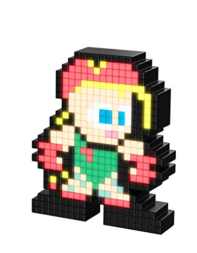 PDP Pixel Pals Capcom Street Fighter II Cammy Collectible Lighted Figure, 878-033-NA-CAMMY (Best Street Fighter 2)