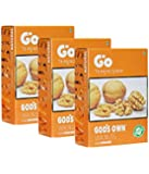 Go Organic Light Broken Walnuts Kernels(Without Shells) Pack Of 3 Each 250G
