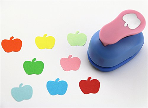 CADY Crafts Punch 2.5 cm paper punches paper flower (Apple)