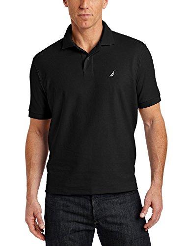 Nautica Solid Shirt Black 1X Large