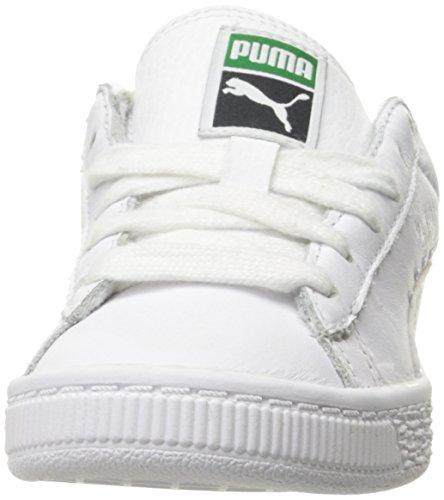 Little Basket US BTS Kid PUMA 12 White Shoe Silver PS Running M Kids' L Classic 577OTq