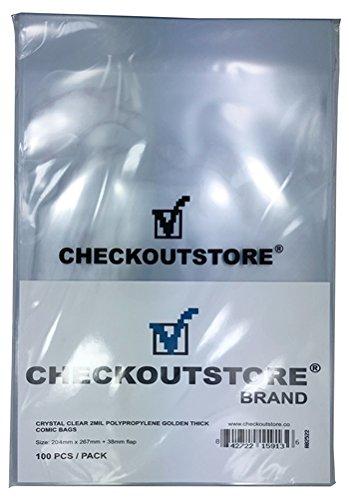 CheckOutStore - Bolsas para libros de cómic de color dorado ...