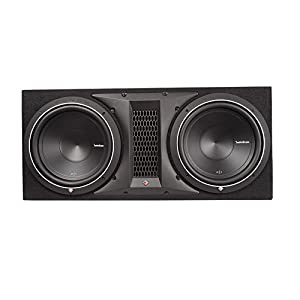 "Rockford Fosgate P1-2X12 12"" 1000W Dual Subwoofer + Box + 2000W Amp + Amp Kit"