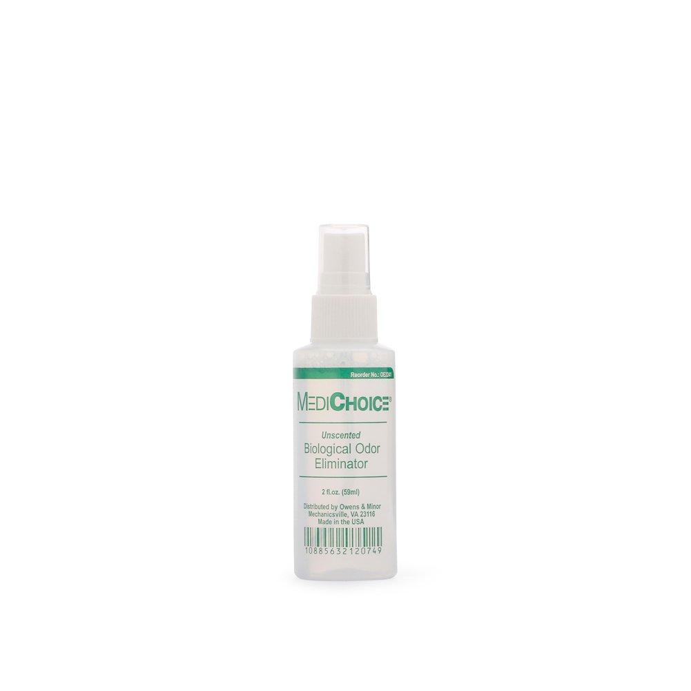 MediChoice Biological Odor Eliminator, Unscented, Pump Spray, 2 Ounce, 1314OE2241 (Each of 1) by MediChoice (Image #1)
