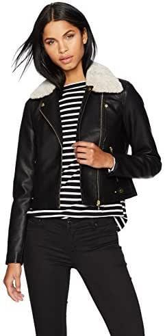 Vero Moda Womens Calm Short Jacket in Black
