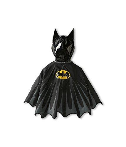 Western Chief Little Boys' Batman Everlasting Rain Coat, Black, 5/6 by Western Chief (Image #2)