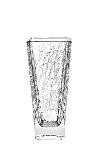 Square Italian Vases - Barski European Glass Designed Square Vase , 12