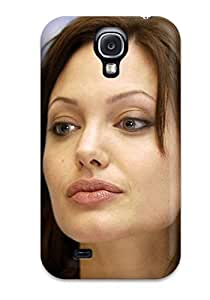 Awesome Design Angelina Jolie Hard Case Cover For Galaxy S4