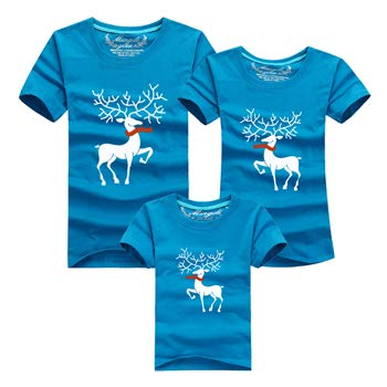 1b66f50eb Ming Di Christmas Family Matching Outfits T-Shirt More Color Milu ...