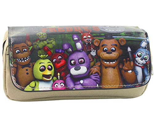 Five Nights at FreddyS Estuche de Lápices Bolsa de Lona ...