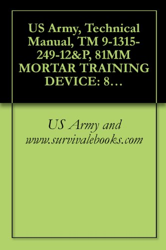 US Army, Technical Manual, TM 9-1315-249-12&P, 81MM MORTAR TRAINING DEVICE: 81MM SABOT (INERT) M1, AND 22MM SUB-CALIBER PRACTICE CARTRIDGE M744, M745, M746, AND M747, 1990