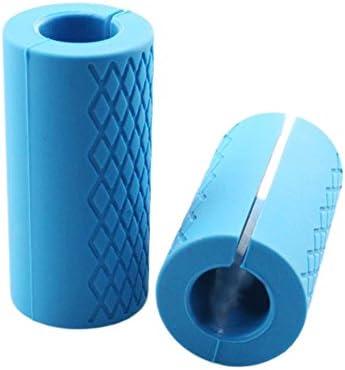 Feiledi® - Puños de silicona para mancuernas, cómodos y duraderos ...