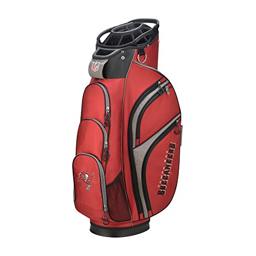 - Wilson 2018 NFL Golf Cart Bag, Tampa Bay Buccaneers