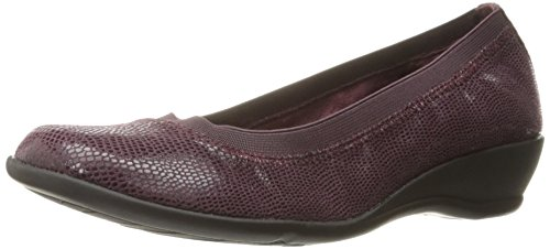 Hush Puppies Soft Style Womens Rogan Flat Sassafras Lizard