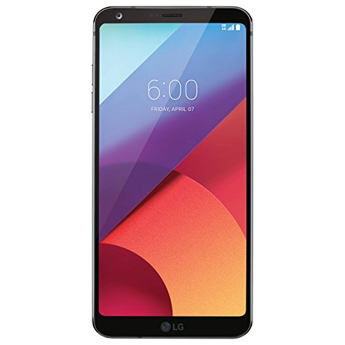 LG G6 H872 5.7 32GB Unlocked GSM Android Phone w/ Dual 13MP Cameras - Astro Black (Renewed)