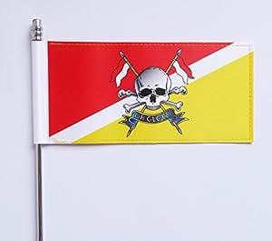 Ejército británico Royal Lancers Ultimate mesa bandera–bandera oficial Mod aprobado