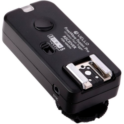 Vello FreeWave Fusion Pro Kit with 2 Receivers for Nikon by VELLO (Image #2)