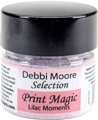 (Debbi Moore Print Magic Ultra Fine Embossing Powder-lilac Moments)