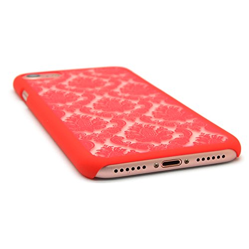 iProtect iPhone 7 Hard Case - edles orientalisches Design in Rot