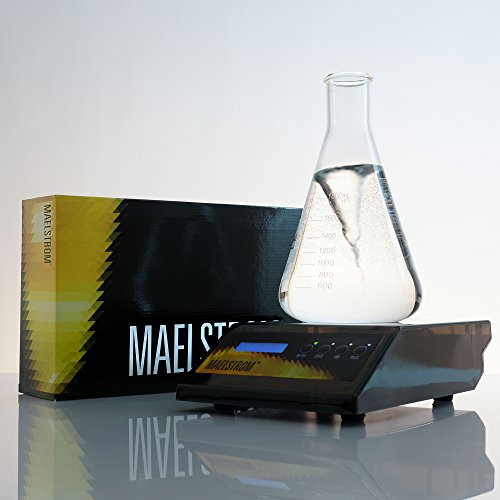 Maelstrom Stir Plate for Beer Yeast Propagation in Home Brewing Beer or Wine Making