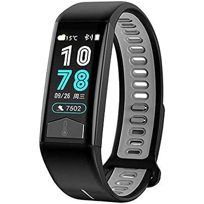 NFGGLM Smart Bracelet Men Women IP68 Waterproof Blood Pressure Heart Rate ECG Monitor Wristband Temperature Estimated Price £40.51 -