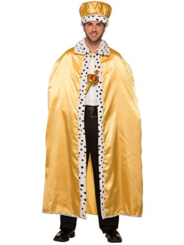 Forum Novelties Royal King Cape for Adults, Gold]()