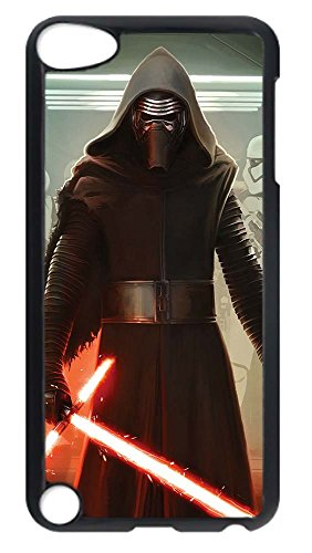 iPhone 5 Case, iPhone 5S Case Unique Custom Design Star Wars Kylo Ren Stormtrooper Lightsaber 2 Hard Slim PC Black Protective Cover for iPhone 5/5S