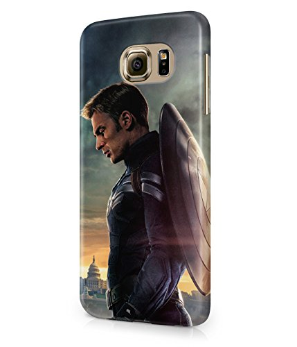 Captain America Winter Solider The Avengers Shield Superhero Plastic Snap-On Case Cover Shell For Samsung Galaxy S6