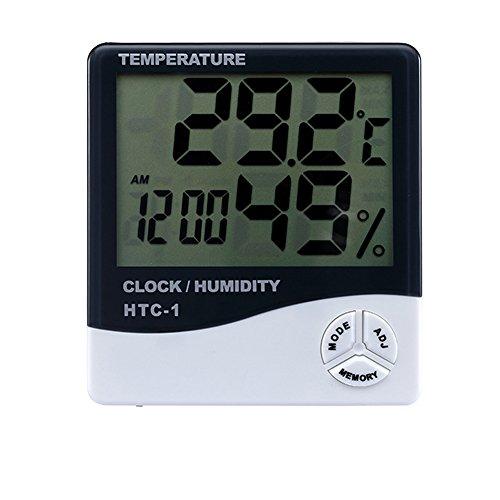 Multi Function Digital Alarm Clock Built In Hourly Chime