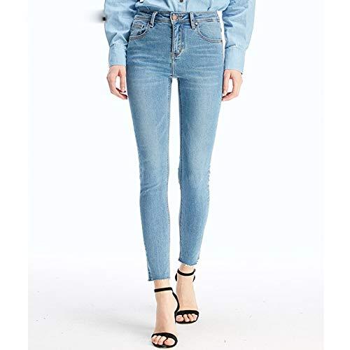 Jeans Due Elastico M Corpo Colori Jeans Azzurro Mvguihzpo Xl Donna Pantaloni Vita Xdggfxa
